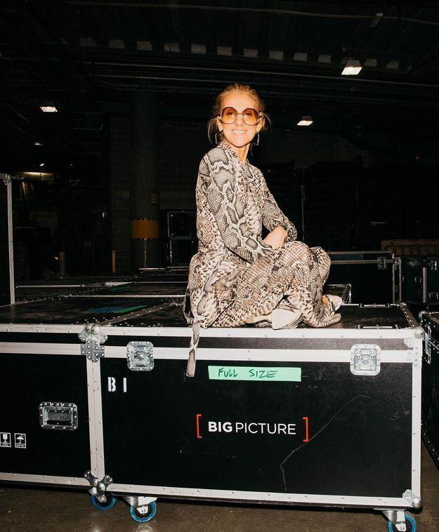 Céline Dion, juillet 2018