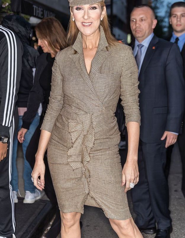 Céline Dion à New York, avril 2017
