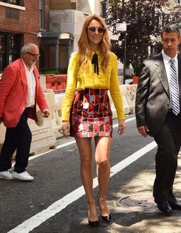 Céline Dion à New York, juillet 2016