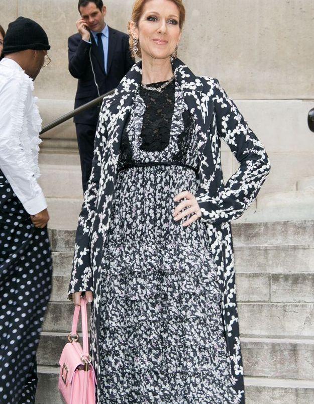 Céline Dion à Paris, juillet 2016