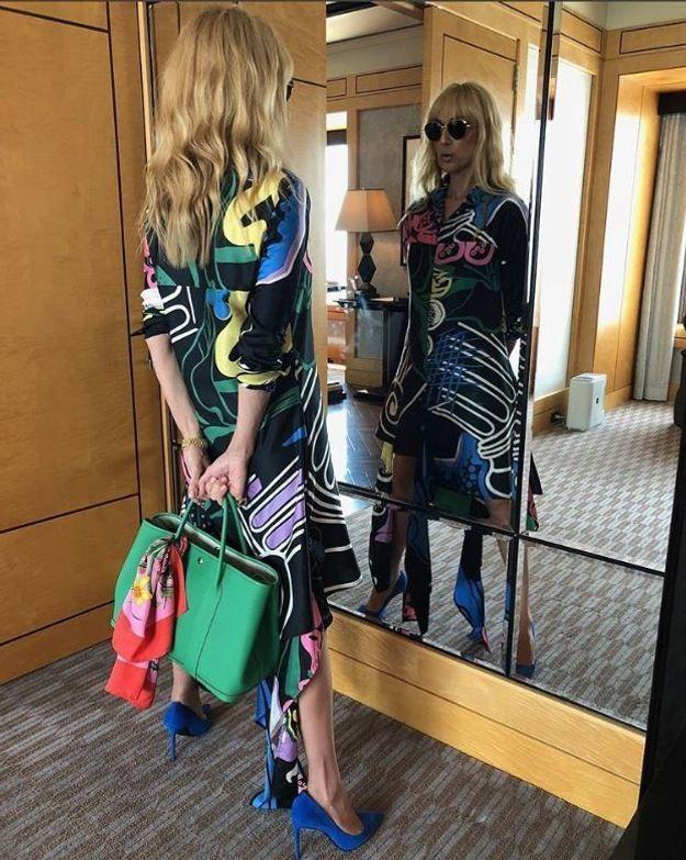 Céline Dion à Tokyo, juin 2018