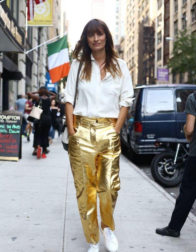 Les pantalons dorés de Caroline de Maigret