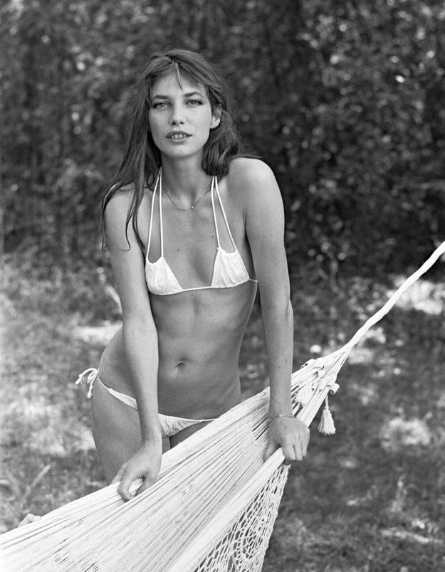 Le bikini blanc de Jane Birkin