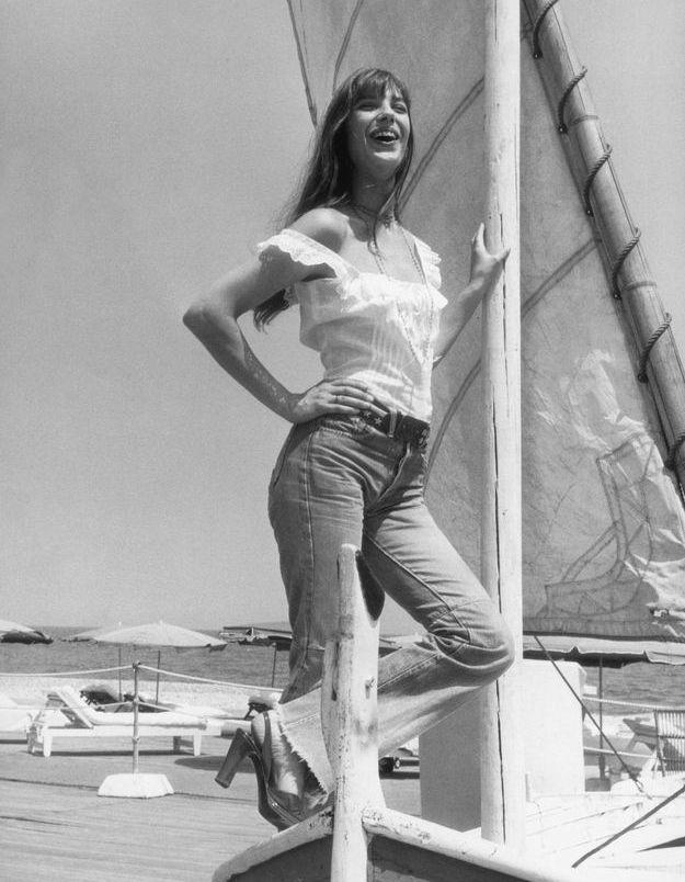 Le jean taille haute de Jane Birkin