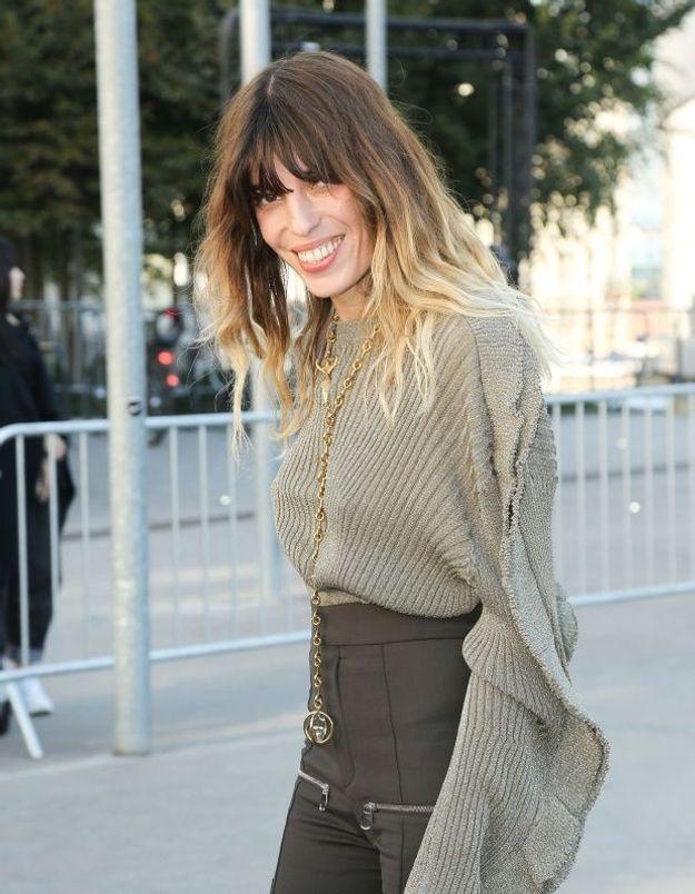 Lou Doillon porte le look parfait pour assister à la Fashion Week