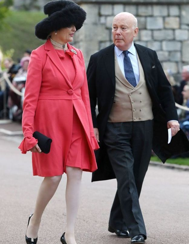 Emma Joy Kitchener et Julian Fellowes