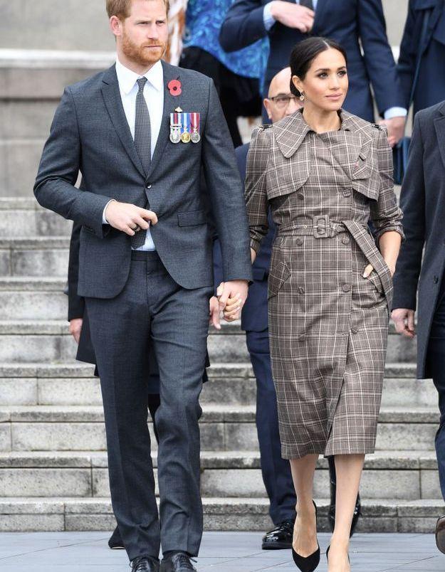 Accueil royal pour le couple