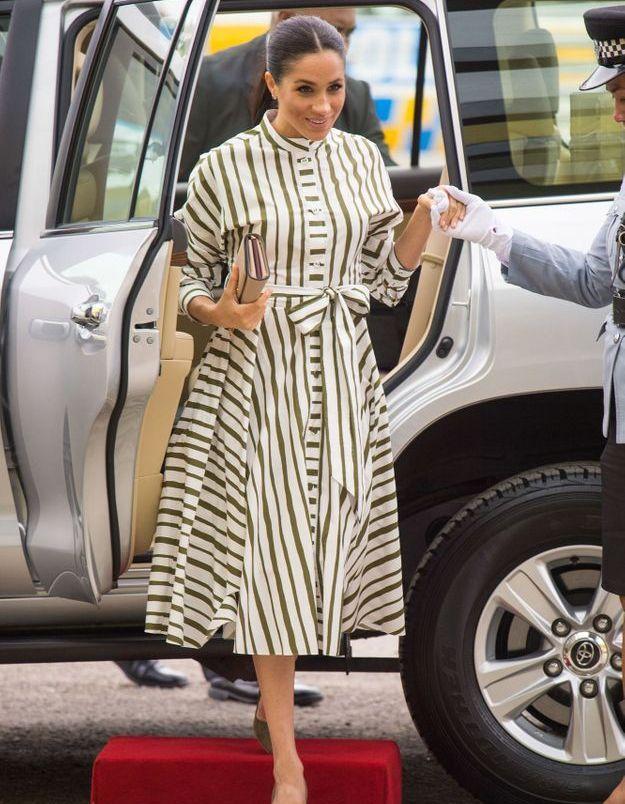 La robe rayée de Meghan