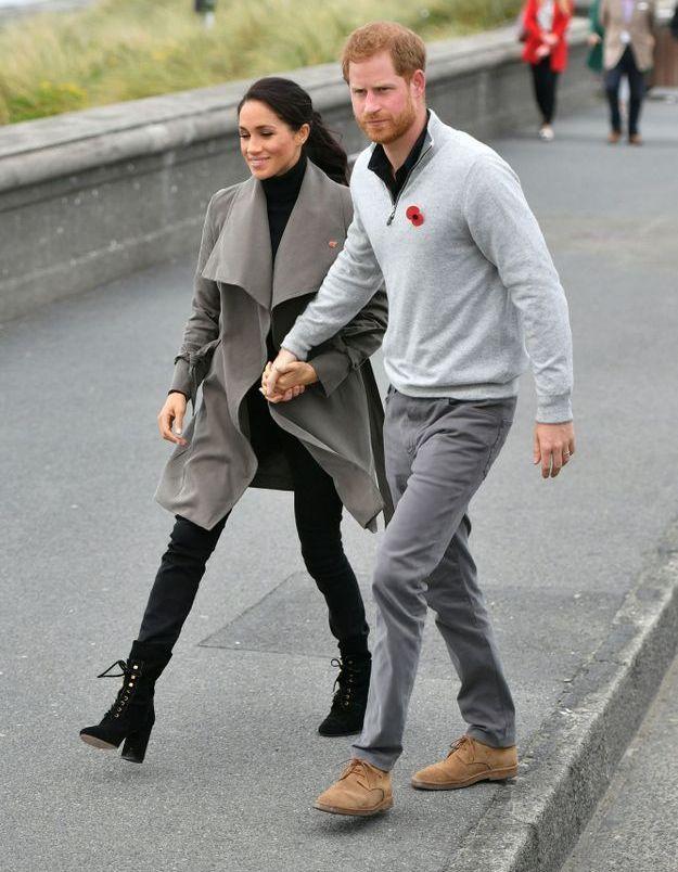 Meghan et Harry arrivent en Nouvelle Zélande