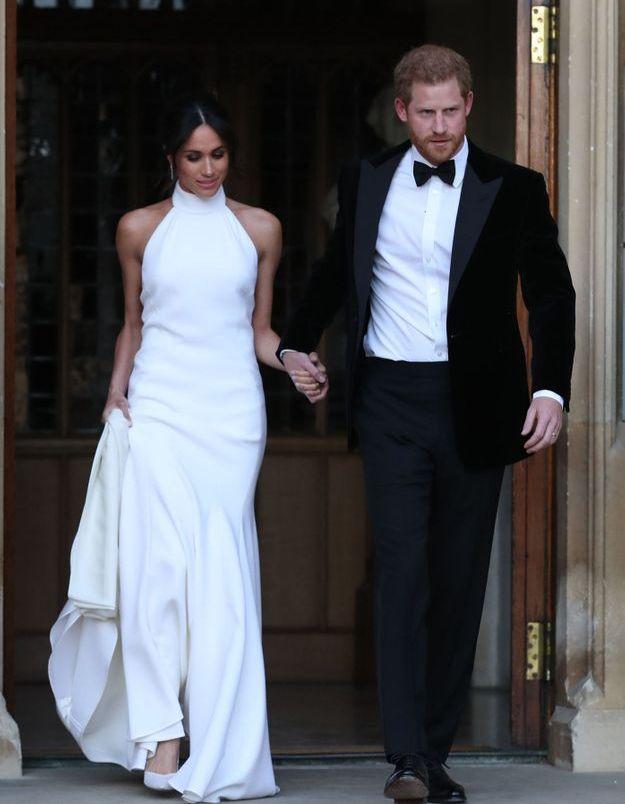 La deuxième robe de mariée de Meghan Markle