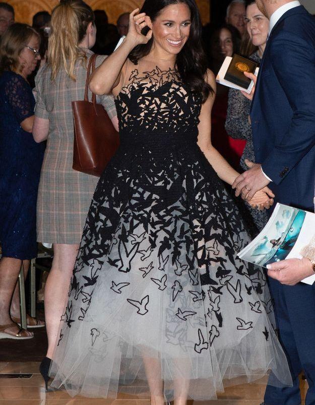Meghan Markle en robe de bal
