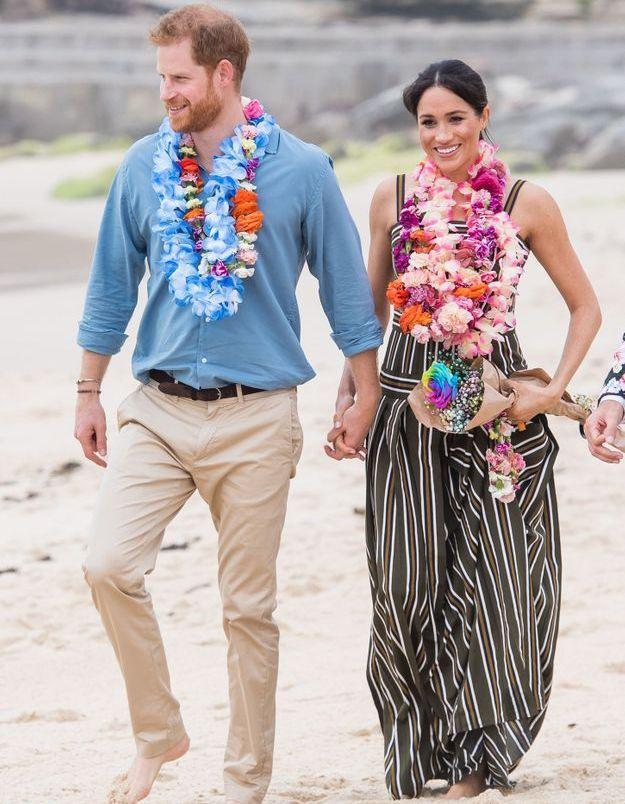 Meghan Markle en robe de plage