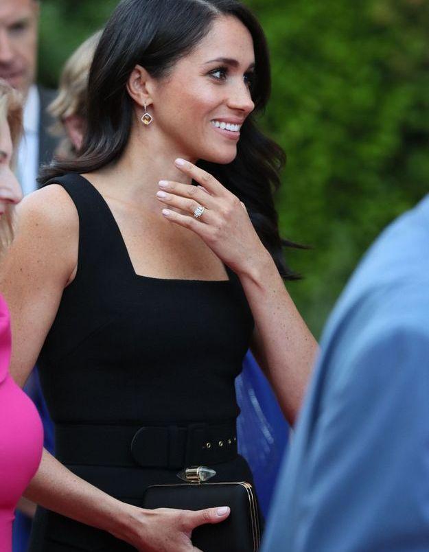 Meghan Markle, à la Summer Party donnée à la résidence de l'Ambassadeur britannique