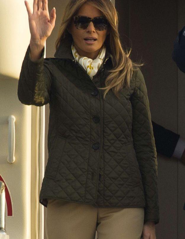 Melania Trump le 13 juillet 2018 à son arrivée en Ecosse