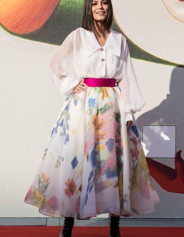 Alessandra Mastronardi sur le tapis rouge