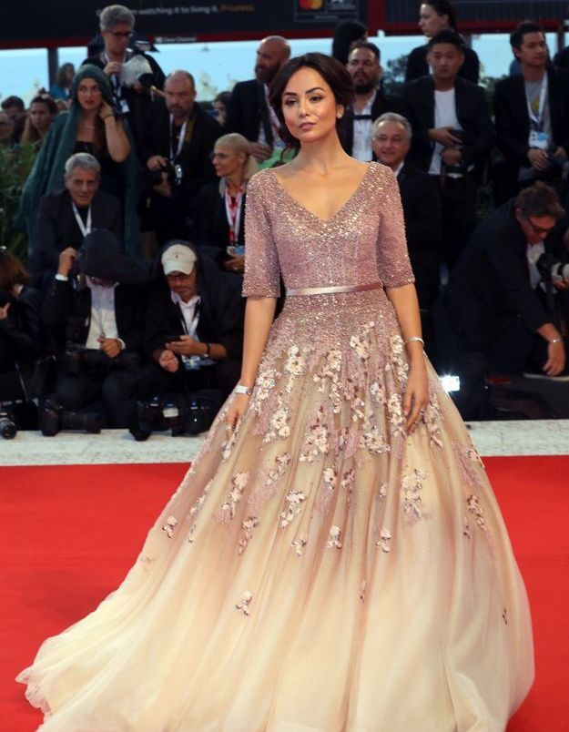 Diletta Amenta sur le tapis rouge
