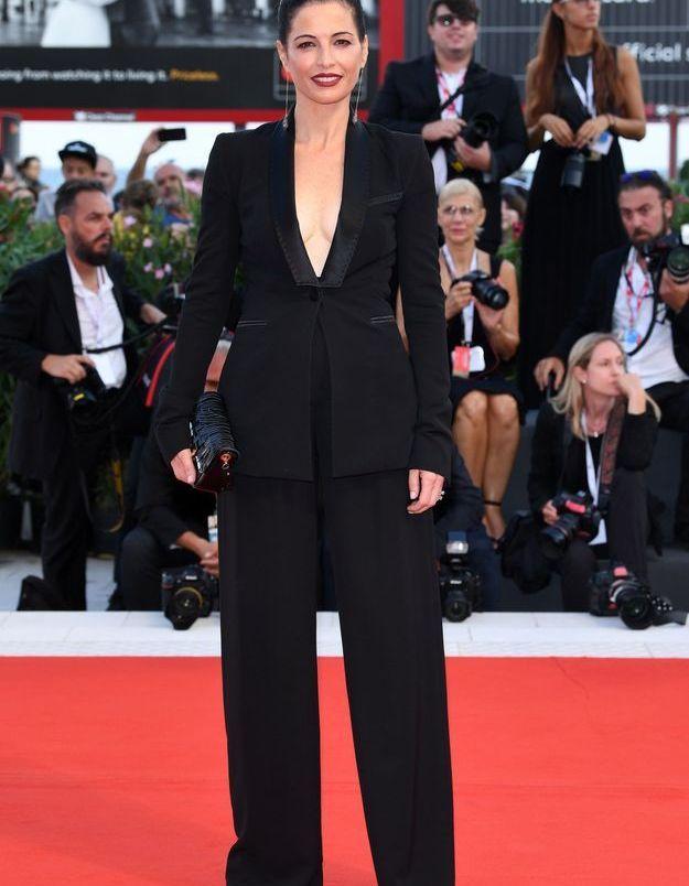 Eleonora Ivone sur le tapis rouge
