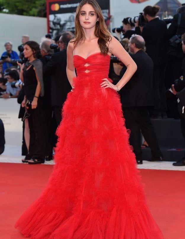 Sophie Lane Curtis sur le tapis rouge
