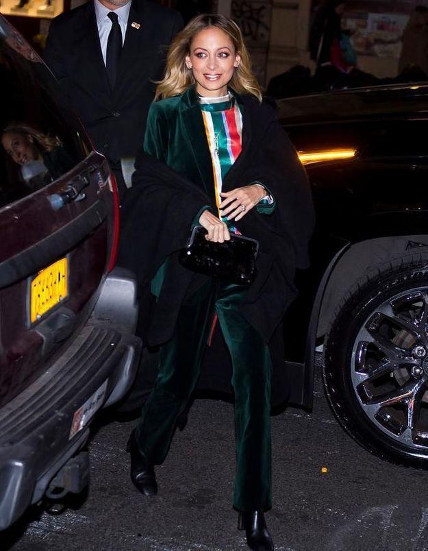 Nicole Richie nous inspire une idée de tenue cool pour les fêtes