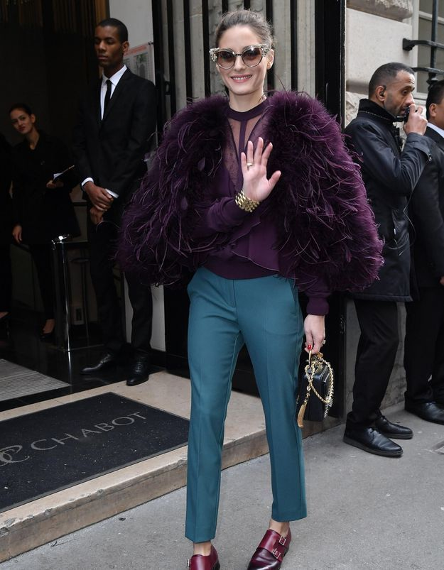On retient le look parfait d'Olivia Palermo
