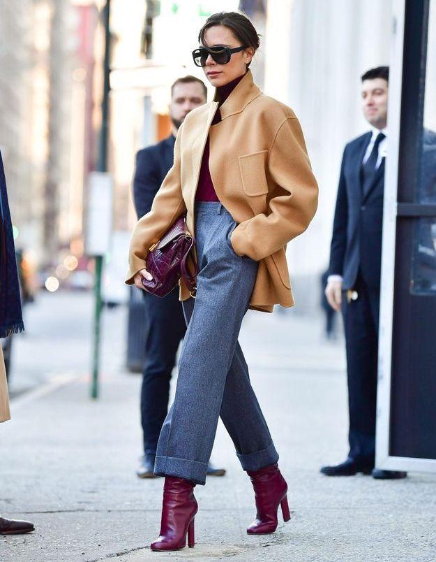 Saint-Valentin : on s'inspire du look de Victoria Beckham