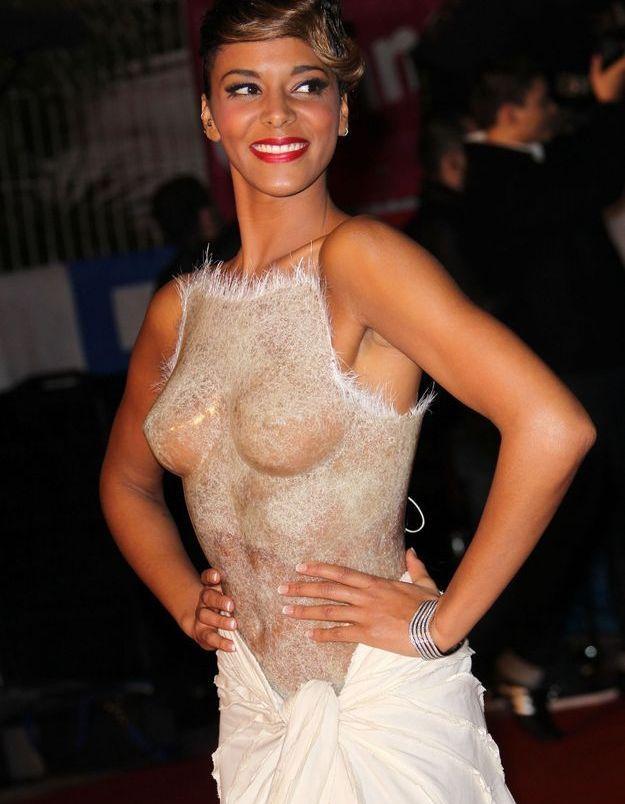 Robe bustier Franck Sorbier aux NRJ Music Awards 2012