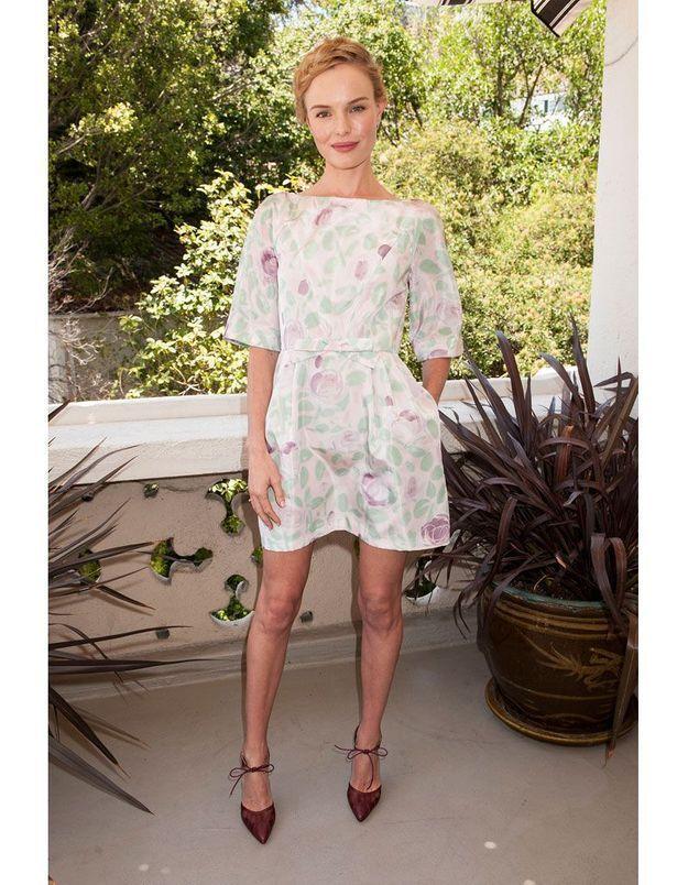 L'imprimé passé de Kate Bosworth