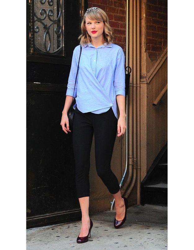 La chemise déstructurée de Taylor Swift
