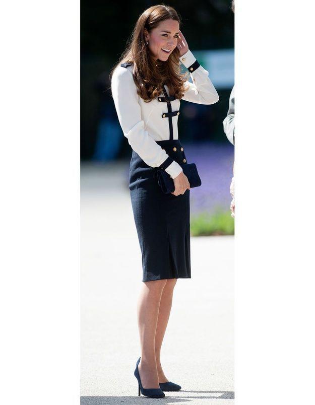 Le navy de Kate Middleton