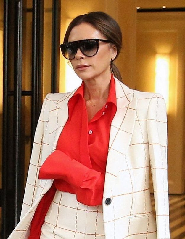 Victoria Beckham : elle a trouvé le jean idéal pour aller travailler
