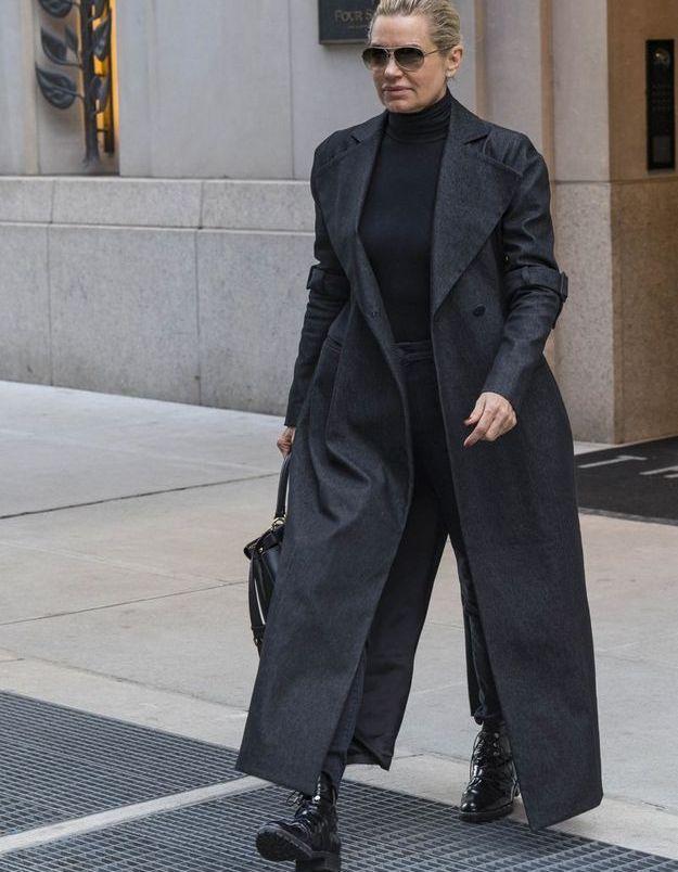 Yolanda Hadid en look matrix