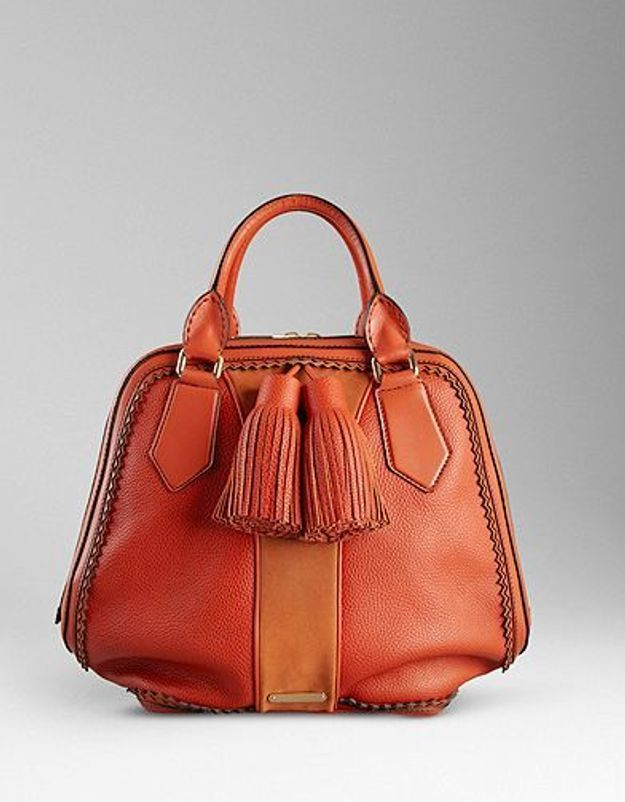 Mode dossier tendance it bad sac luxe rentree Sac bowling Burberry