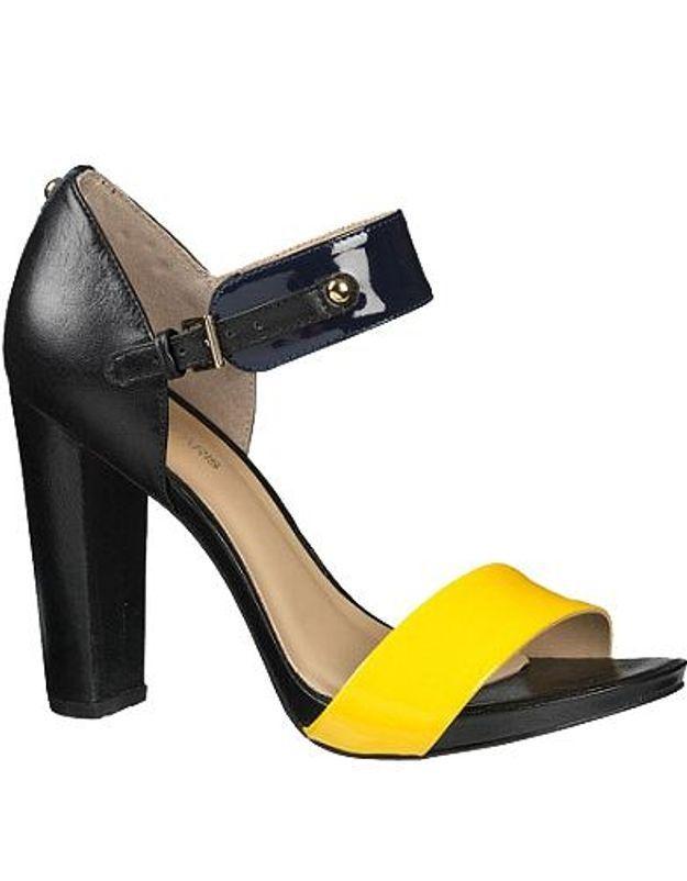 Mode guide shoping tendance look fluo chaussure cosmoparis