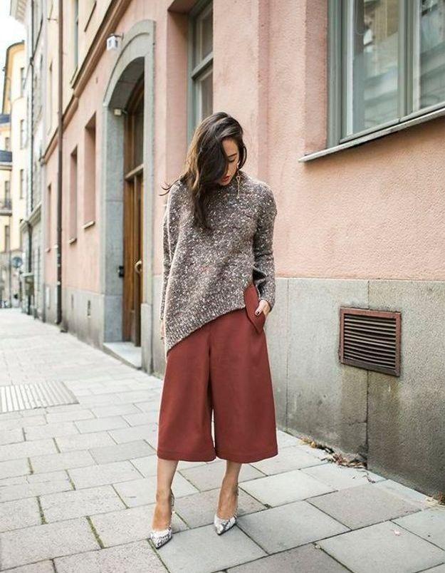 Sur une jupe vintage