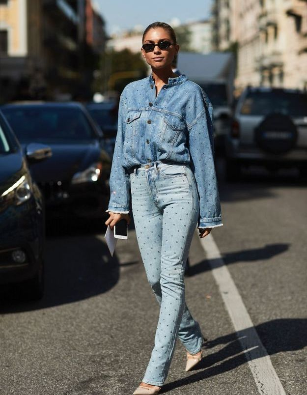 Un look total denim