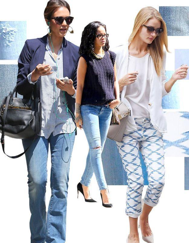 5 façons de porter le jean d'été