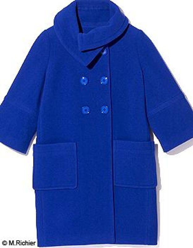 la meilleure attitude eee32 b12bd Comment porter un manteau bleu ? - Elle