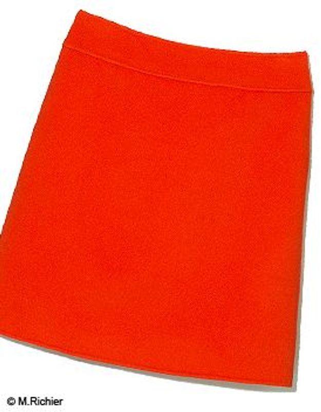 fd31486ad2e Comment porter une jupe orange   - Elle