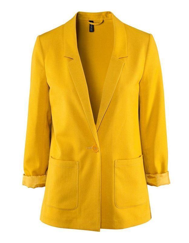 Hm blazer jaune