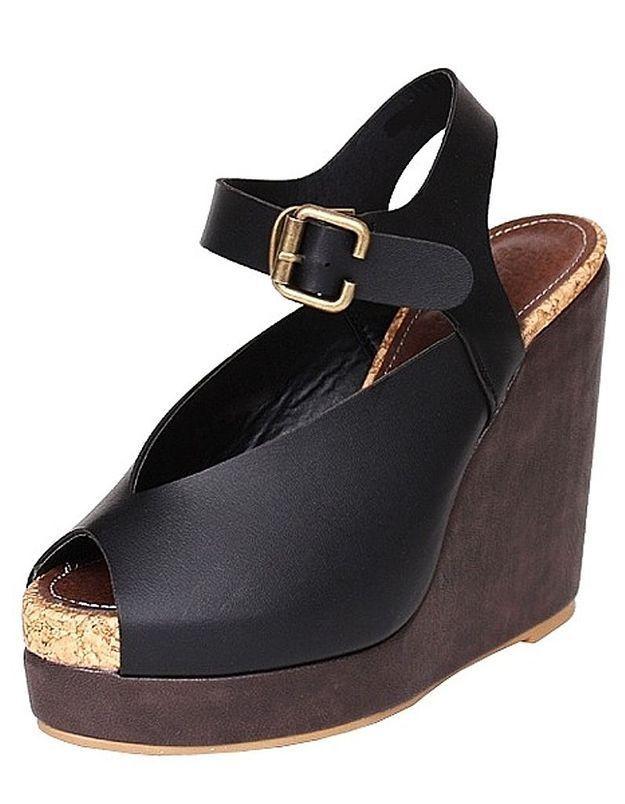 Modekungen sandales noires