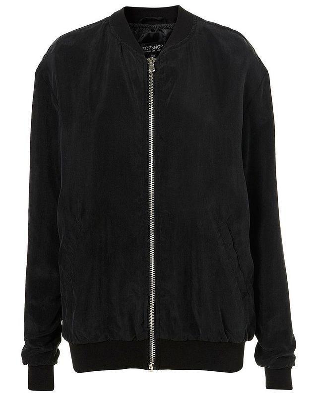 Topshop veste noire