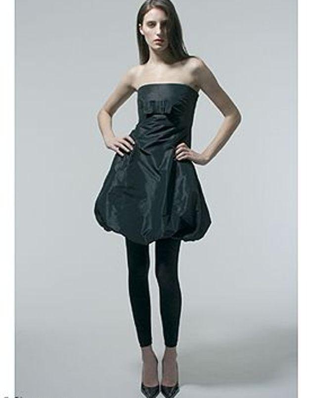 Qui peut porter la robe bustier ?