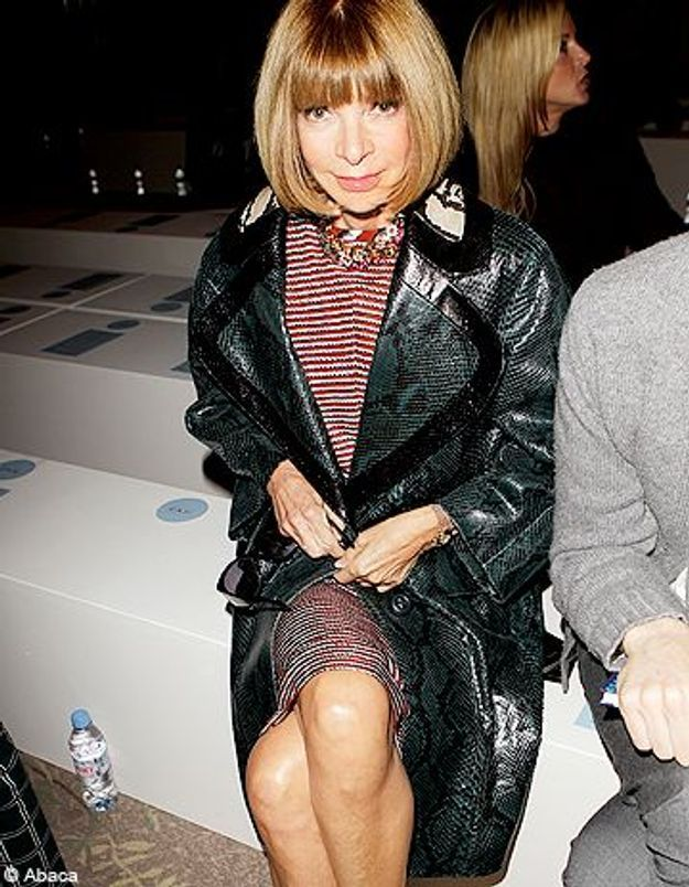 Anna Wintour tacle la politique de Silvio Berlusconi