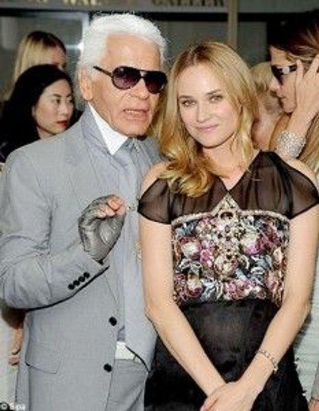 Karl Lagerfeld récompensé pour son œuvre