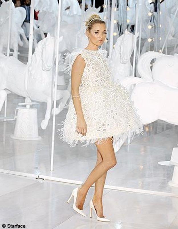 Kate Moss défile pour son ami Marc Jacobs