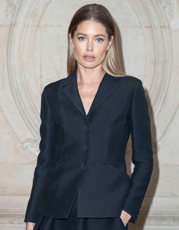24h avant le défilé Dior avec Doutzen Kroes (vidéo)