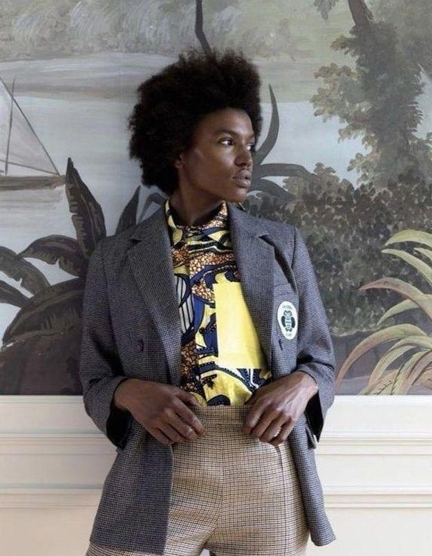 A.P.C. : la marque recycle ses collections avec Sakina M'Sa