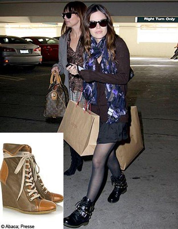 Actrices et blogueuses : toutes fans des boots Chloé !