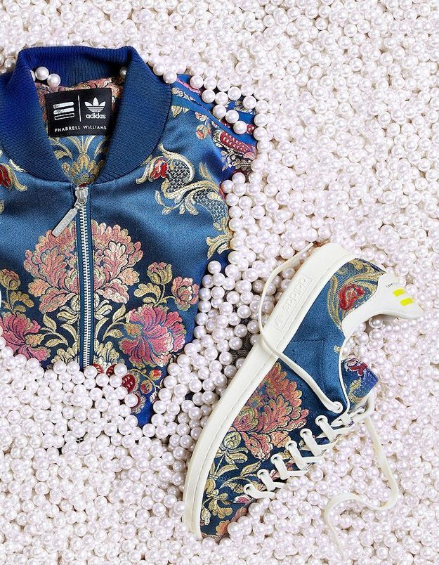 Adidas et Pharrell Williams : une nouvelle collaboration fleurie
