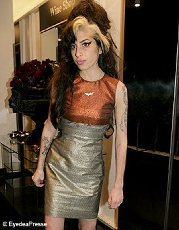 Amy Winehouse styliste pour Fred Perry